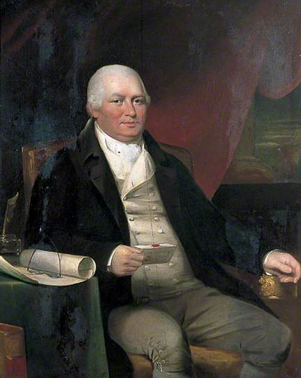 William BALDOCK of Petham, near Canterbury, by T Dinsdale (painting)